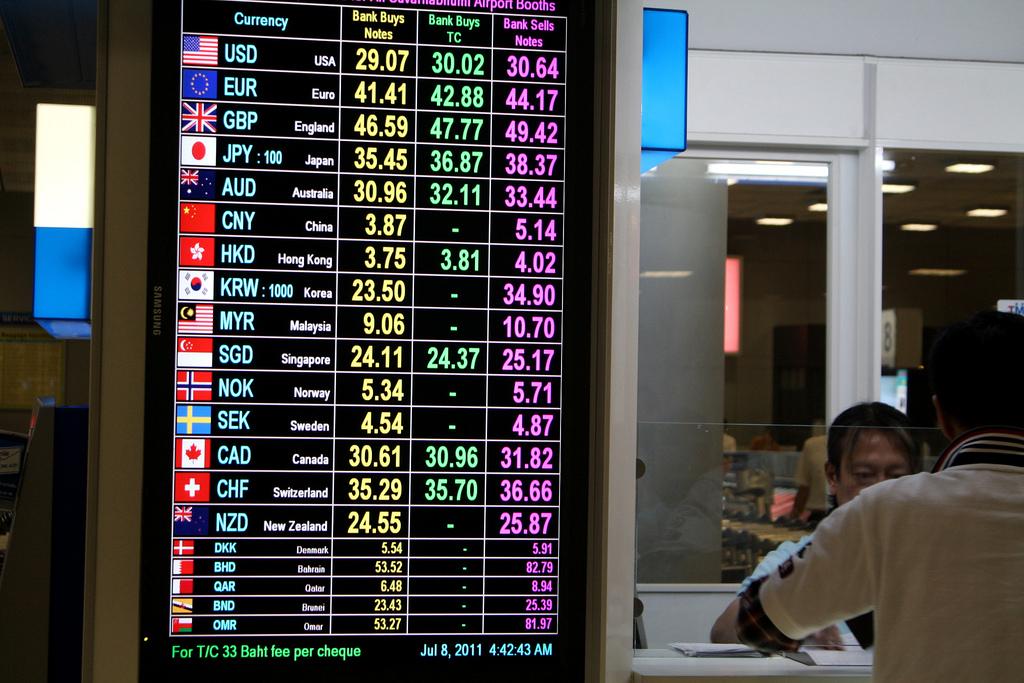 海外旅行のお金の両替を比較