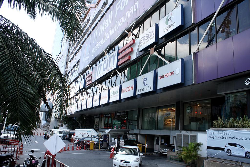 バンコクの電脳街フォーチュンタウン