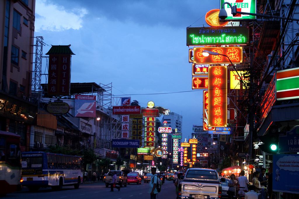 バンコクのチャイナタウン(ヤワラート)