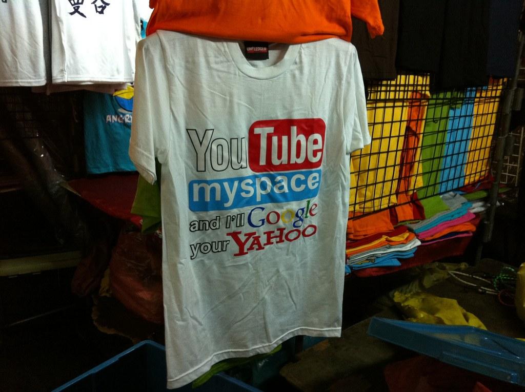 バンコク旅行のお土産はTシャツが安くて人気