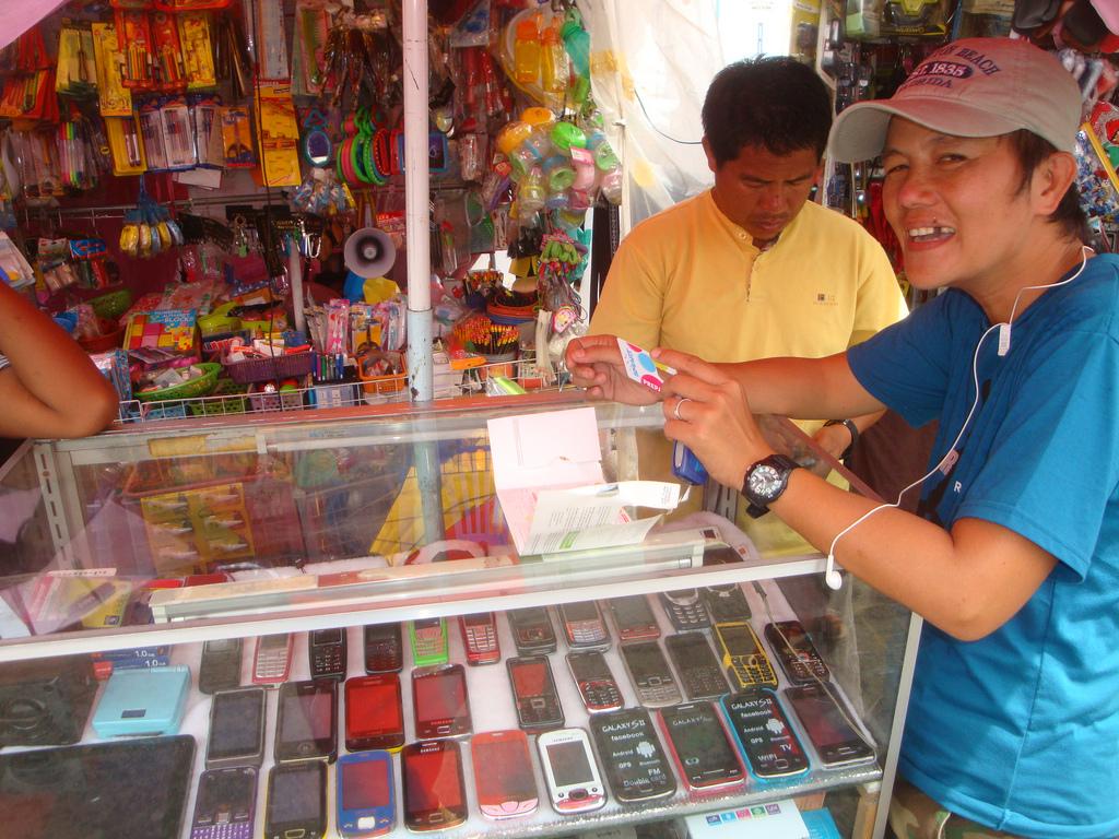 フィリピンで中古の携帯電話を購入