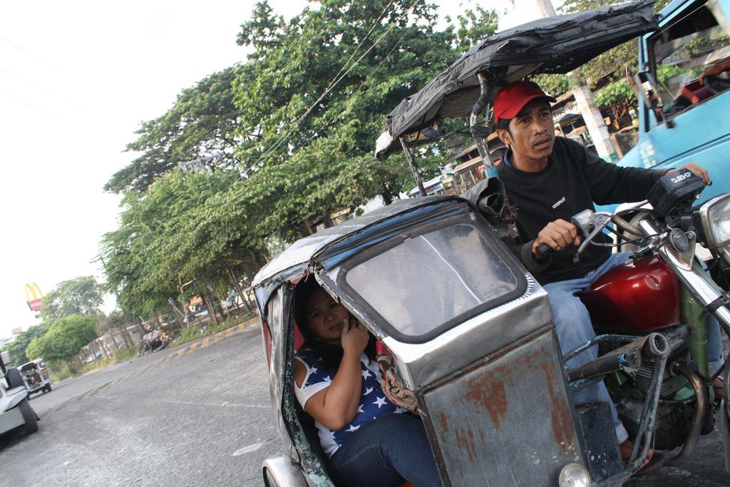 フィリピンの乗り物のトライシクル