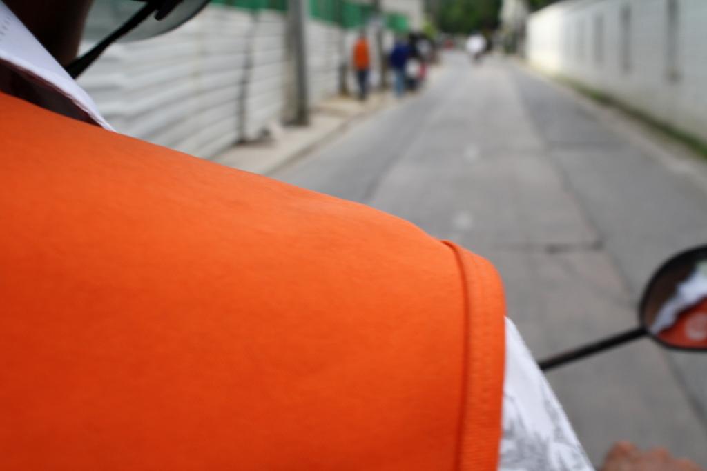 バンコクのバイクタクシーの料金