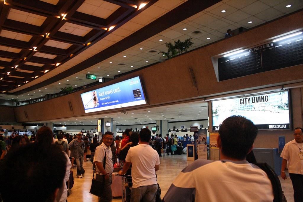マニラのニノイ・アキノ国際空港